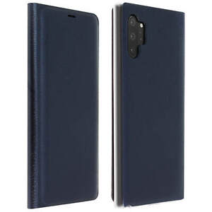Flip-Book-cover-wallet-case-with-stand-for-Samsung-Galaxy-Note-10-Plus-Dark-blue