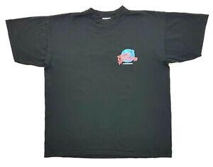 Vintage Planet Hollywood London 1998 Tee Black Size XL Mens T-Shirt