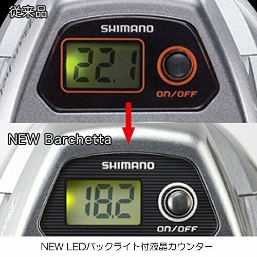 SHIMANO  Reel 17 Barchetta BB 301 PGDH LEFT