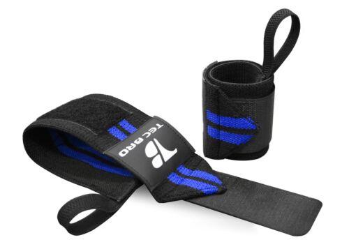 Tecbro Weight Lifting Wrist Wraps Premium Quality Extra Strength Wrist Support