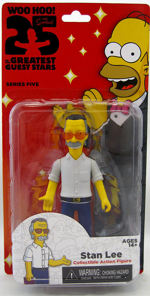 The Simpsons 25th Anniversary Stan Lee figure