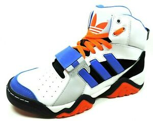 Adidas-Streetball-1-5-Mens-Shoes-G99873-Basketball-Leather-Black-White-Retro
