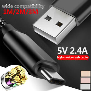 USB-C-Type-C-3-1-Nylon-Fast-Charging-Cable-Data-ChargerFor-Samsung-Xiaomi-Mi-8