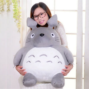 65cm-Giant-Big-Totoro-Plush-Toy-Stuffed-Totoro-Grey-Anime-Soft-Doll-Xmas-Gift-1x