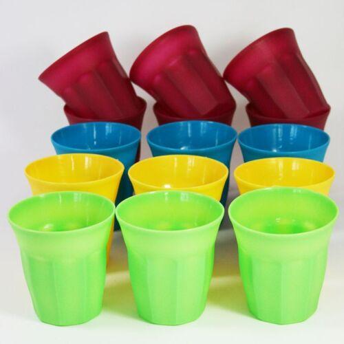 15 Becher Kunststoff Plastikbecher Kunststoffbecher Campinggeschirr Partybecher