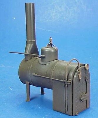 O//On3//On30 1//48 WISEMAN MODEL SERVICES SHOP OR MINE SMALL HORIZONTAL BOILER KIT