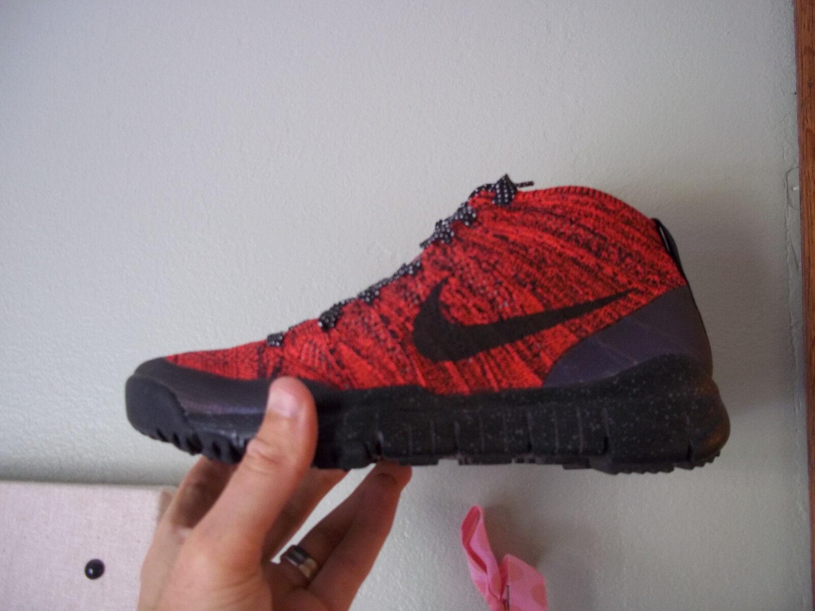 Women's Nike Flyknit Trainer Chukka FSB Size 8.5 (805093 603) NO BOX