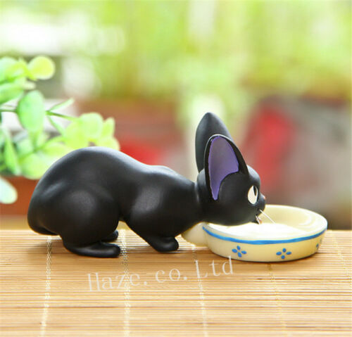 Anime Kiki/'s Delivery Service Jiji Black Cat Resin Figure Figurine 10.5cm Beauty