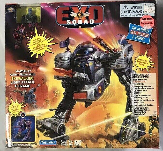 EXO SQUAD Marsala W  Exowalking Light Attack E- Frame 1994 Playmates SEAL (A)