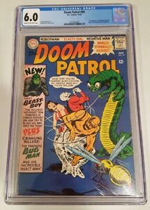 Doom Patrol 99 1965 Dc Cgc 6 0 C Ow 1st App Of Beast Boy Garfield Logan Ebay
