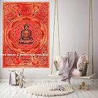Indian Tapestry Lord Buddha Wall Hanging 30*40 hippy home decor Throw hippie Art