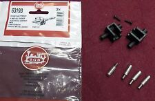 G SCALE LGB 63193 ELECTRICAL CONTACTS, 2 SETS OF BRUSHES & HOLDERS, 2 AXLE CARS