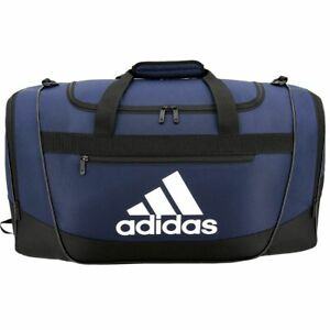 540a139fb Image is loading New-ADIDAS-Defender-III-Medium-Duffel-Workout-Gym-