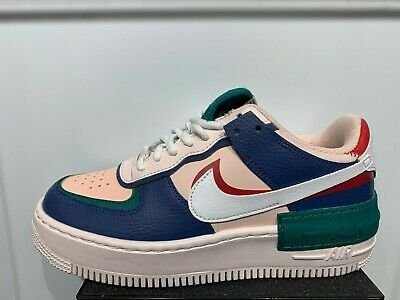 Nike Air Force 1 Low Shadow Mystic Navy Womens Size 5 5 10 New