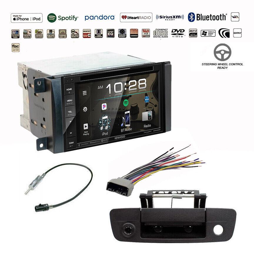 Kenwood Double DIN Bluetooth USB Stereo+Backup Camera+Dodge Ram Radio Dash  Kit | eBayeBay