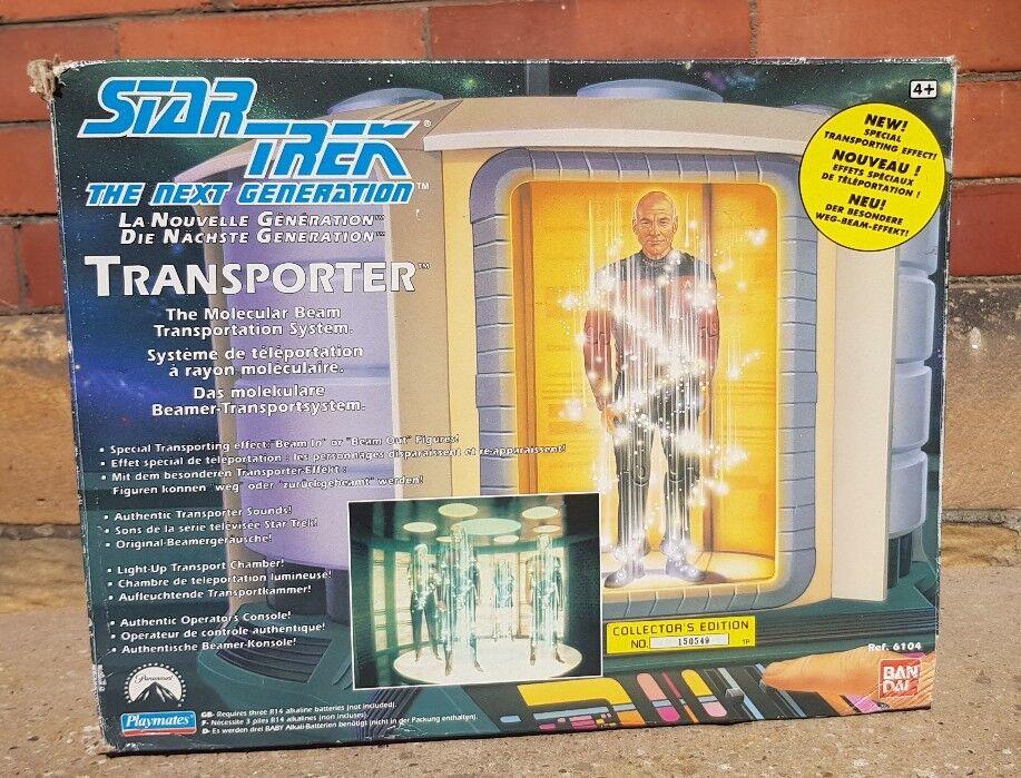 STAR TREK THE NEXT GENERATION TRANSPORTER Playmates TNG in Scatola