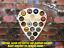 Guitar-Pick-Custom-Beer-Pop-Cap-Holder-Collection-Display-Iron-Maiden-Metal-Rock thumbnail 1