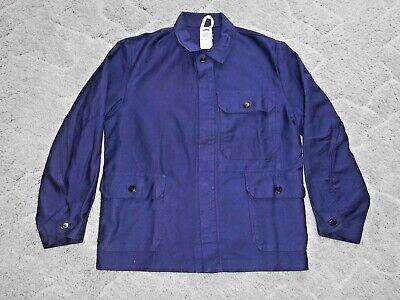 Neueste Kollektion Von Arbeitskleidung Gr. 46 Blau / Arbeitsjacke / Sicherheitsjacke / Schutzjacke *