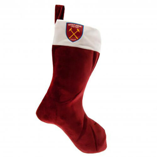 West Ham United F.C Supersoft Christmas Stocking