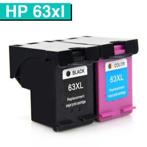 Black Colour Ink for HP 63XL Deskjet 2130 2131 3630 3632 ...