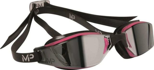 MP Michael Phelps Women's XCEED Lady Swimming Goggle, Pink/Black, One Size