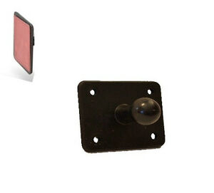 Flat Surface Mount with 17mm Ball & 3M Adhesive for Garmin Nuvi GPS