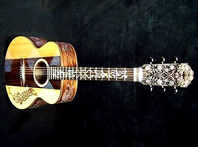 "Musical Instruments & Gear Symbol Of The Brand Blueberry Special Order Dreadnought Guitar ""celtic Lion"" 90 Day Delivery 100% Original Guitars & Basses"