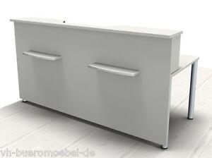 empfangstheke solid 200 cm schreibtisch mit thekenfront. Black Bedroom Furniture Sets. Home Design Ideas