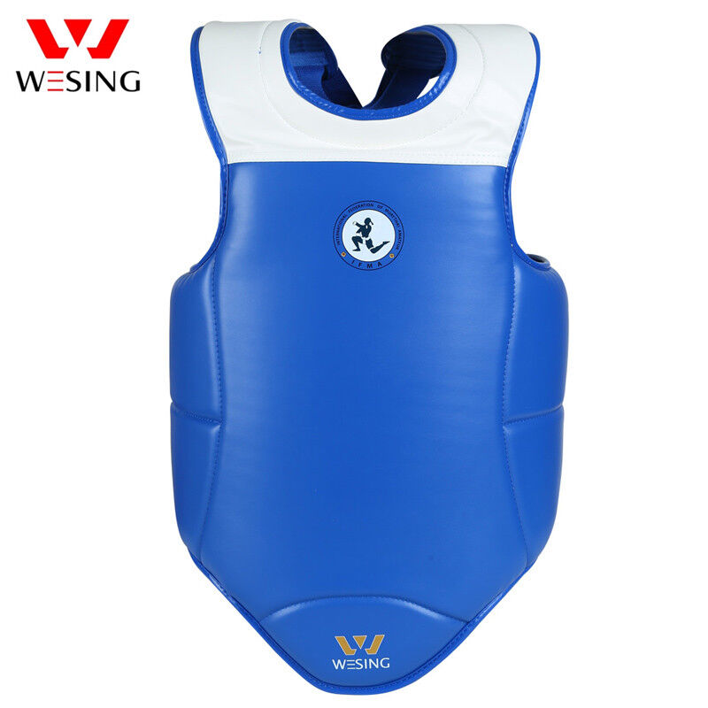 Wesing chest predector chest guard sports direct Adult muay thai IFMA approved