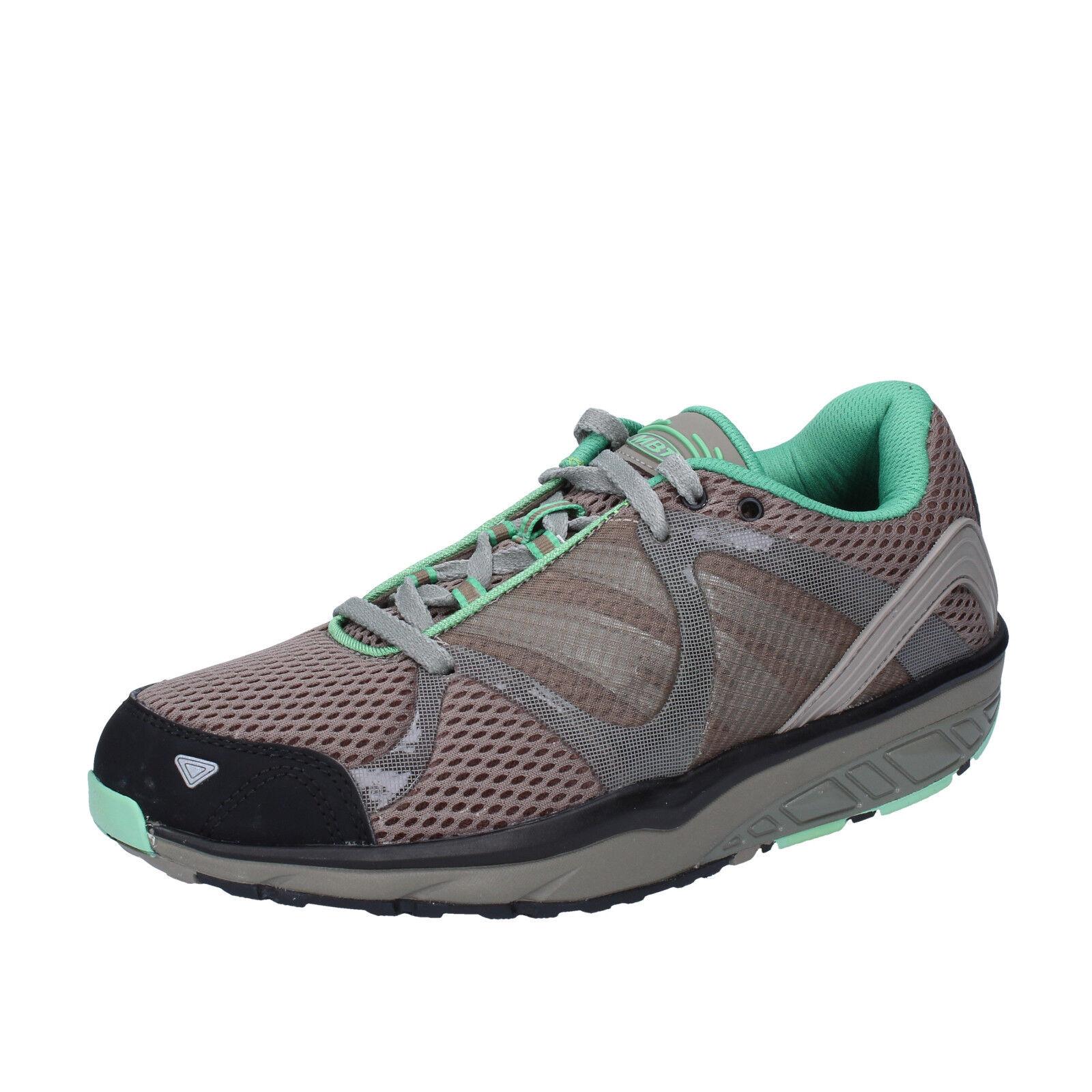 scarpe donna MBT tessuto LEASHA TRAIL 37 EU sneakers grigio tessuto MBT dynamic BX902-37 1c2a71