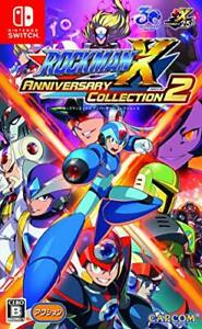 USED-Nintendo-Switch-Rockman-X-Anniversary-Collection-2-Japan-import