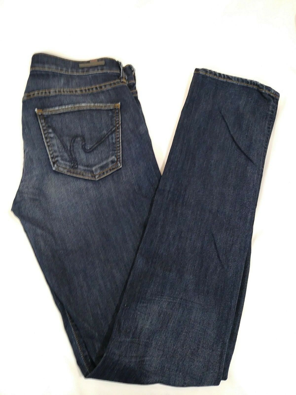 CITIZENS OF HUMANITY Elson 27 Stretch Denim Straight Leg  178 Retail