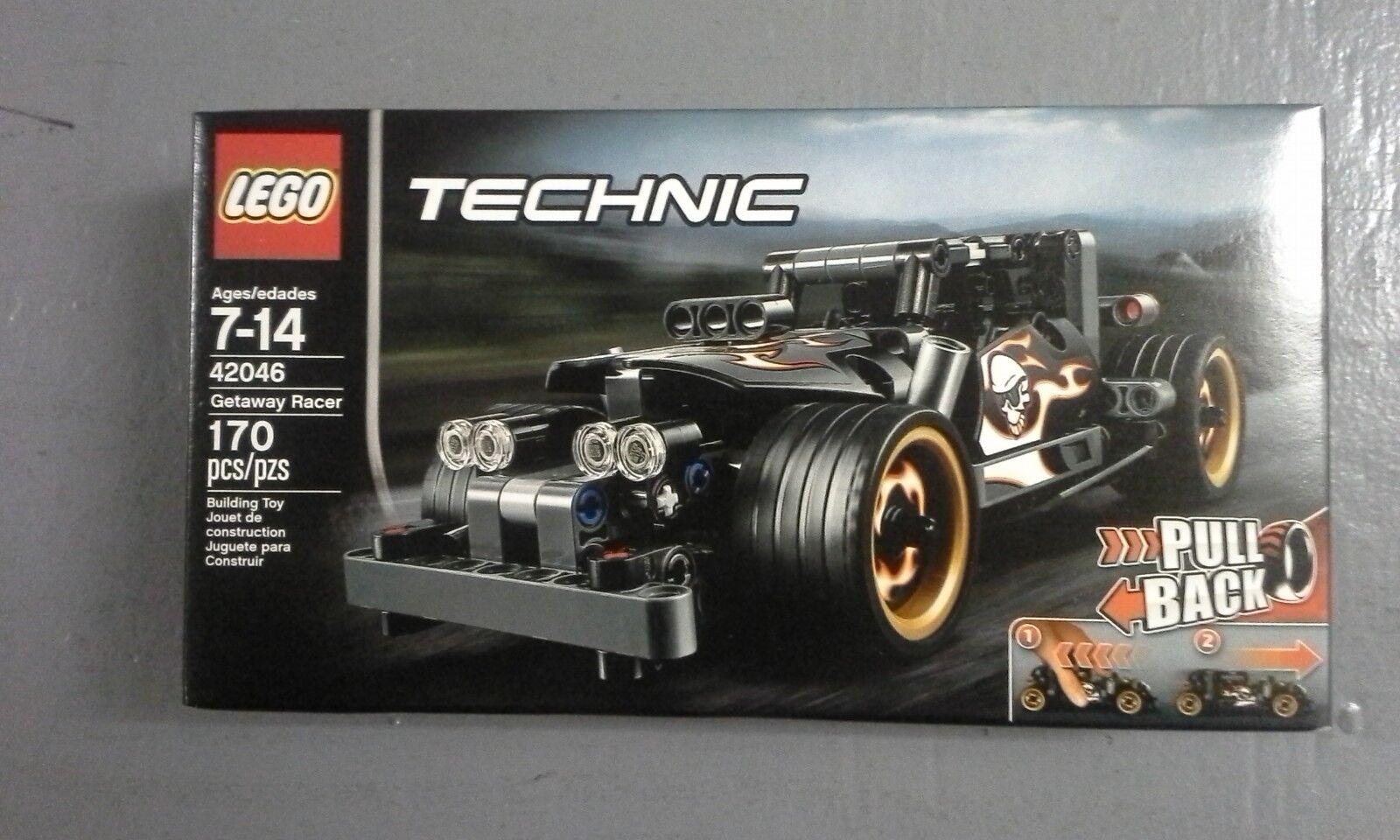 LEGO 42046 & 42047 - Technic - Getaway Racer & Police Interceptor (MISB)