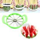 Stainless Steel Watermelon Cutter Melon Cantaloupe Slicer Kitchen Fruit Divider