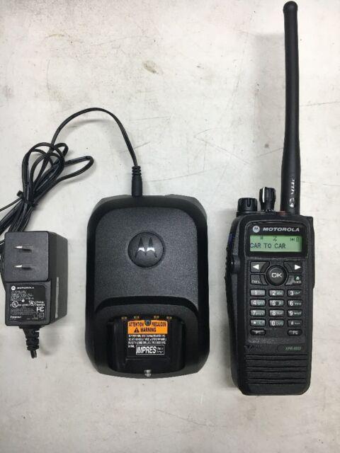 Motorola XPR6550 MOTOTRBO VHF 136-174mhz Portable Radio AAH55JDH9LA1AN XPR 6550