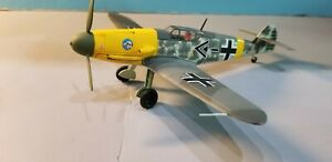 "ARMOUR (98011) LUFTWAFFE BF-109F ""WERNER MOLDERS"" 1:48 SCALE DIECAST METAL MODEL"