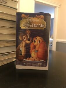 Walt Disney S Masterpiece Collection Lady And The Tramp Vhs Ebay
