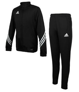 Details about Adidas Men Sereno 19 Track Jackets Training Suit Set Black Jacket Pant FN5795