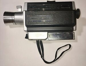 Vintage-Antique-Belle-amp-Howell-Autoload-Super-8-Zoom-1201-Camera