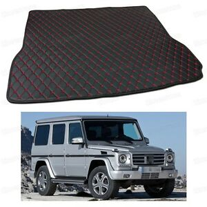 Anti Scrape Leather Car Trunk Mat Carpet for Mercedes-Benz G