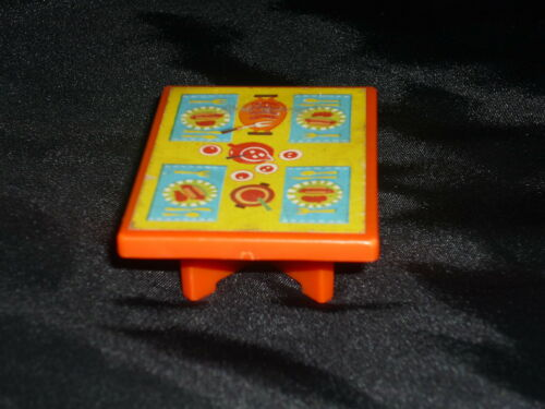 Fisher Price Little People Vintage Hot Dog Picnic Food Table