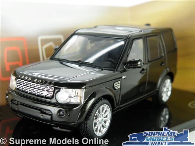 Land Rover Discovery Voiture Modèle Échelle 1 43 Santorin Noir Ixo Dealer Spec gamme K