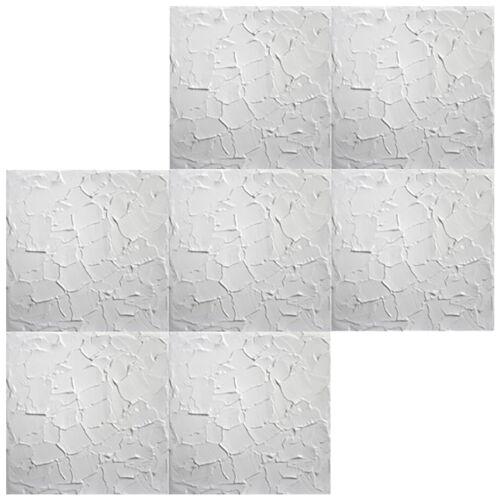 1 Mètres Carrés De Plafond Plaques De Polystyrène Plaques Stuc Plafond Décor Plaques 50x50cm Nº 11