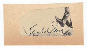 Paul-034-Daffy-034-Dean-Cut-Signature-Autograph-St-Louis-Cardinals-Brother-of-Dizzy