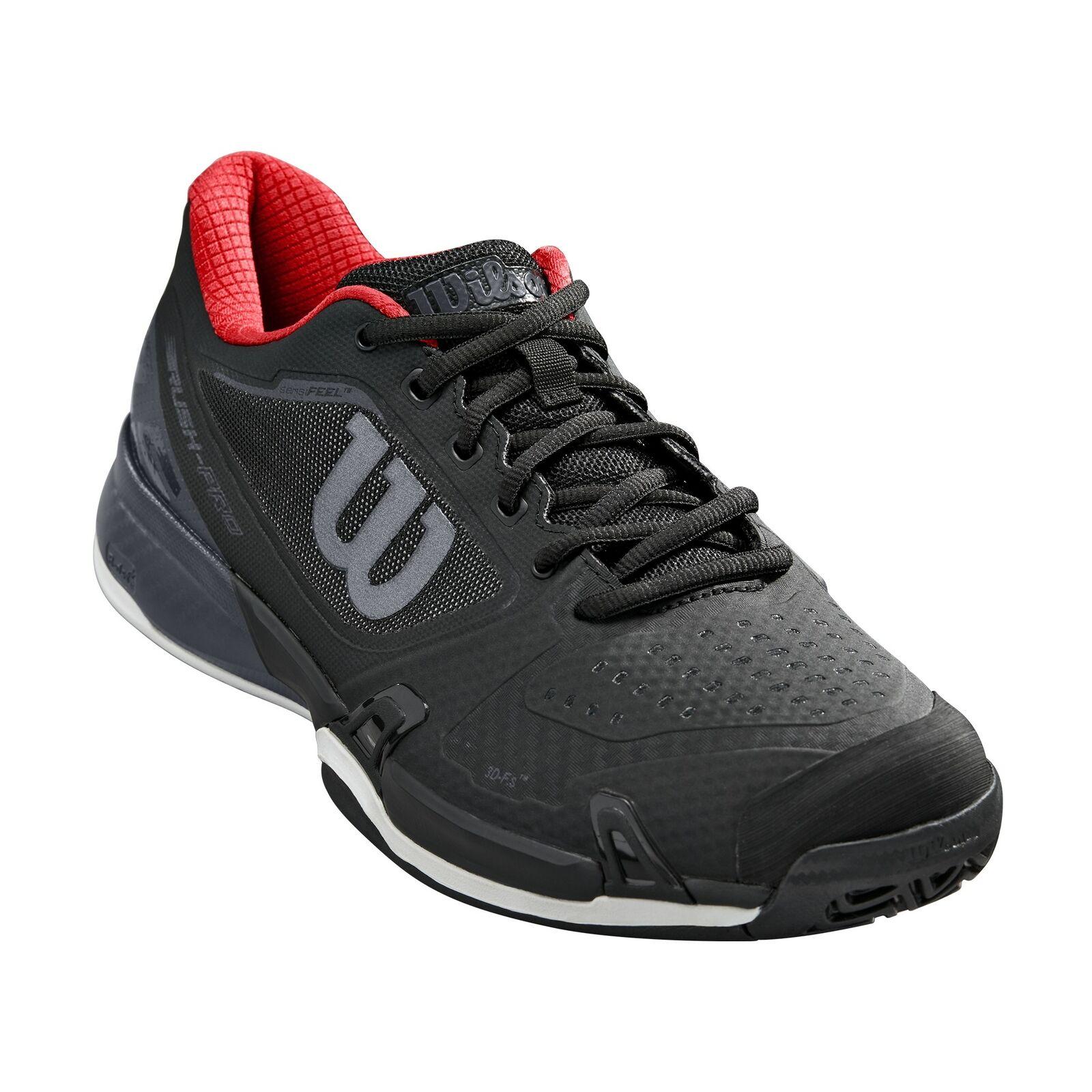 Wilson Rush Pro 2.5 2019 Para Hombre transpirable acolchada en todos los zapatos tenis Tribunal