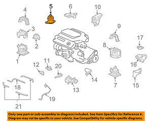 50820SEPA21 Acura OEM 04-06 TL Engine Motor Mount | eBay | Acura Engine Diagram |  | eBay