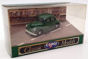 CORGI auto modello IN SCALA 1/43 D702-Morris Minor 1000-Verde