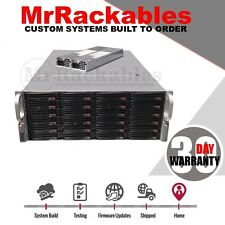 4U Supermicro Superchassis SC846E1-R900B 24 Bay SAS SATA Chassis JBOD Server