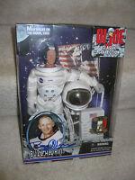 Hasbro Gi Joe 12 Autographed Astronaut Buzz Aldrin Walks On Moon Figure.