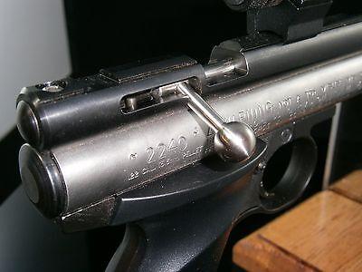 Custom Stainless Steel Ball Bolt Handle for Crosman 2240 2250 2400 1322 1377 etc
